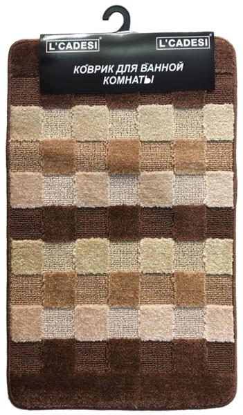 Комплект ковриков из полипропилена на латексной основе, 2шт. 60х100 L'CADESI MARATHON, высота ворса 12мм, плотность 1450 г/м2