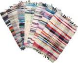 Придверные лоскутные коврики из хлопка