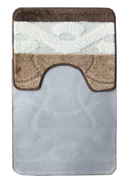 Комплект ковриков L'CADESI MARATHON из полипропилена на латексной основе, 2 шт. 60x100см и 50x60см, Anil бежевый