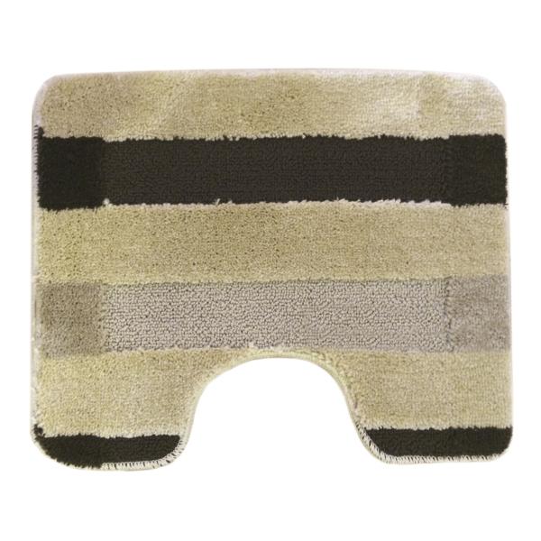 Комплект ковриков L'CADESI HIGH MONO из полипропилена на латексной основе, 2 шт. 60x100см и 50x60см, Colorline бежевый