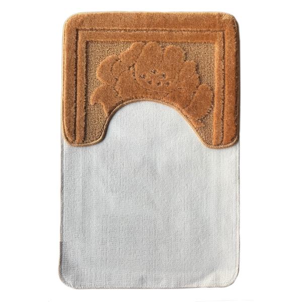 Комплект ковриков L'CADESI NADA из полипропилена на латексной основе, 2 шт. 50x80см и 40x50см, терракот