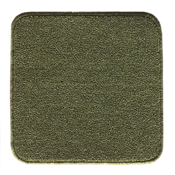 Коврик для табурета L'CADESI ECO LIGHT LATEX, из полипропилена на латексной основе 33х33см, зеленый