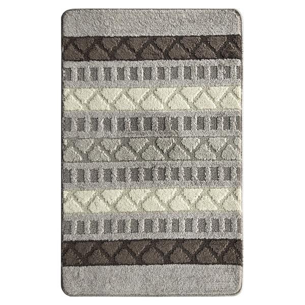 Коврик L'CADESI MARATHON из полипропилена на латексной основе, 60x100см, Geobox шоколад